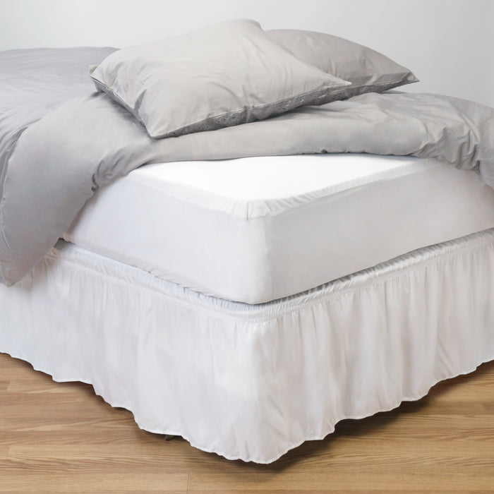 Home Details Twin Deluxe Mattress Protector with Full Zippered Encasement