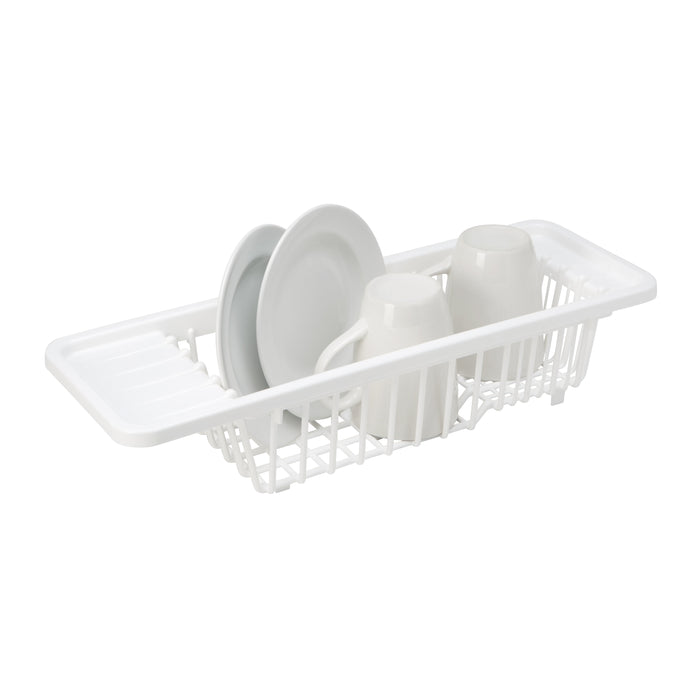 Kitchen Details Over the Sink Dish Rack - White