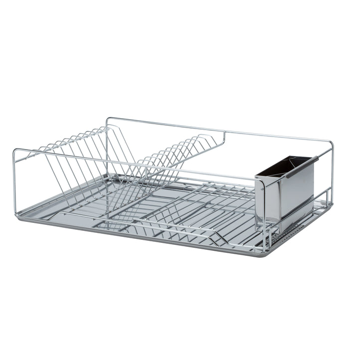Kitchen Details 3-pc. Stainless Steel Twisted Chrome Dish Rack