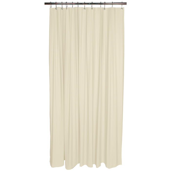 Bath Bliss Heavy Grommet Shower Liner-Beige