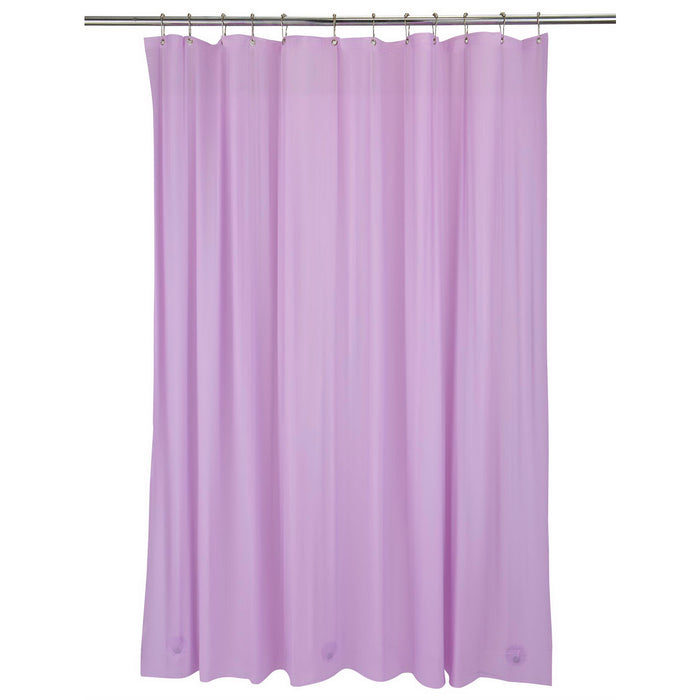 Bath Bliss Heavy Grommet Shower Liner-Lilac