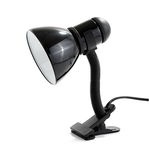 Park Madison Clamp on Lamp - Black