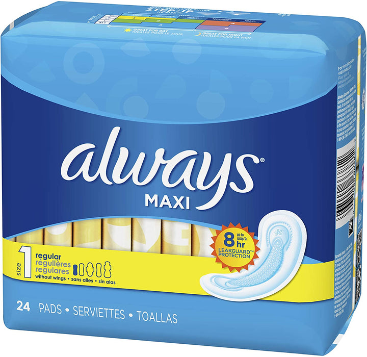Always Maxi Pads - 24ct