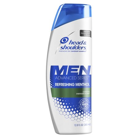 Head & Shoulders Men Advanced Series Refreshing Menthol Dandruff Shampoo 12.8 Oz