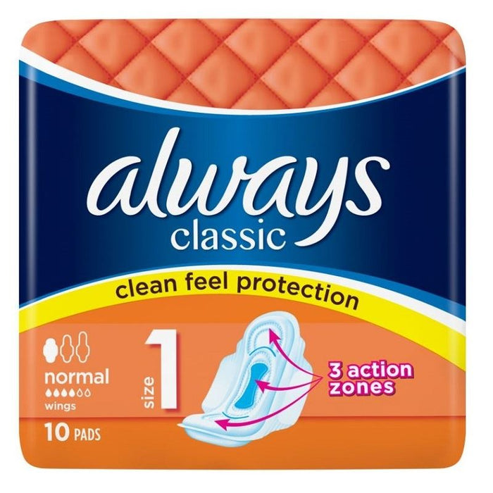 Always Classic Pads - 10ct