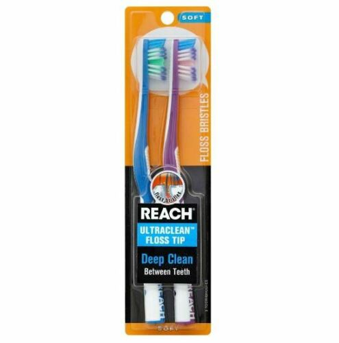 Reach Deep Cleaning Toothbrush 2PK