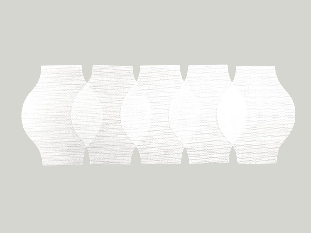 5-Pack Spunbond Polypropylene Filters