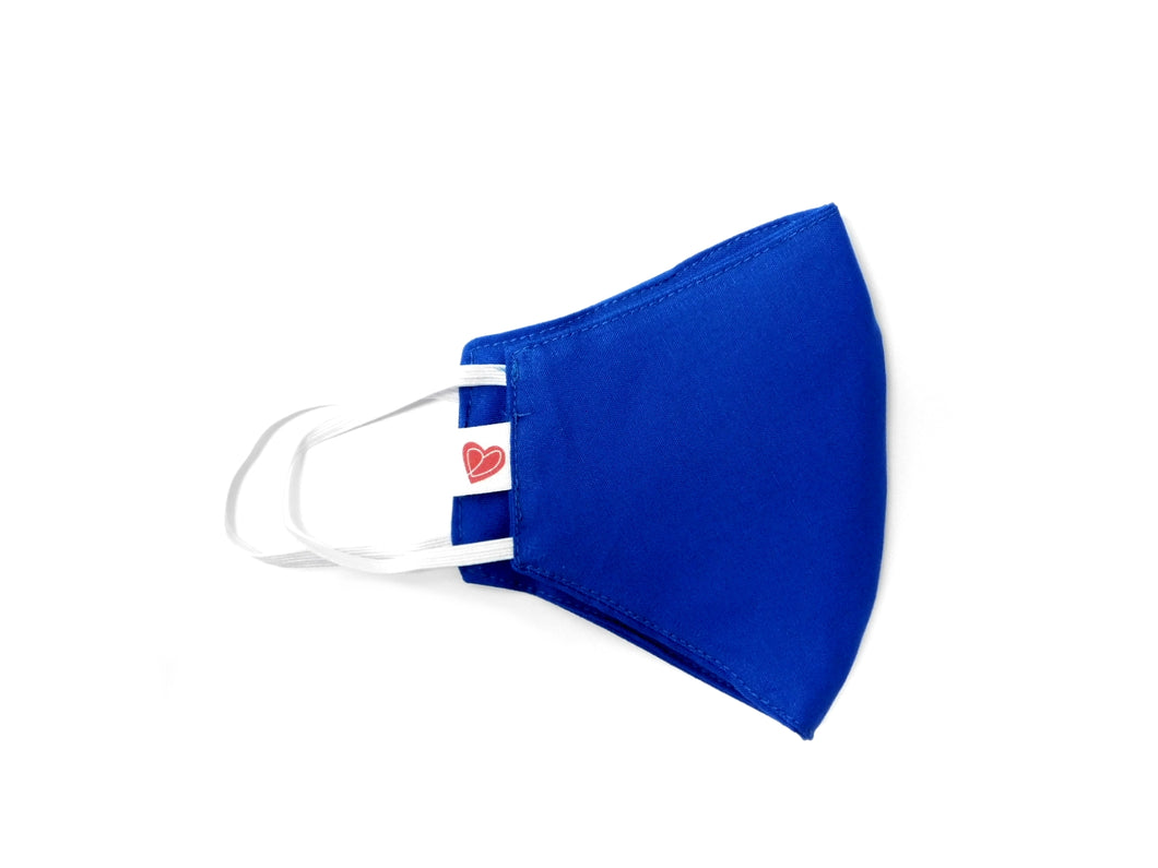 The Learner Youth Mask - Royal Blue