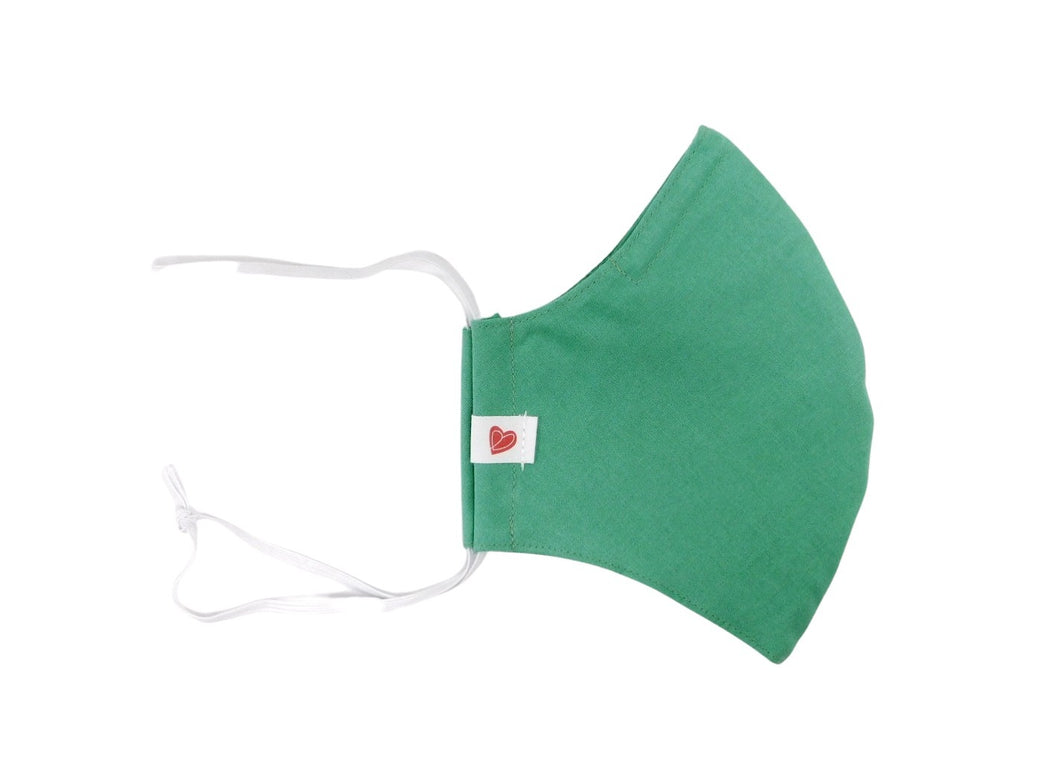 The Worker Adult mask in Scrub Green colour