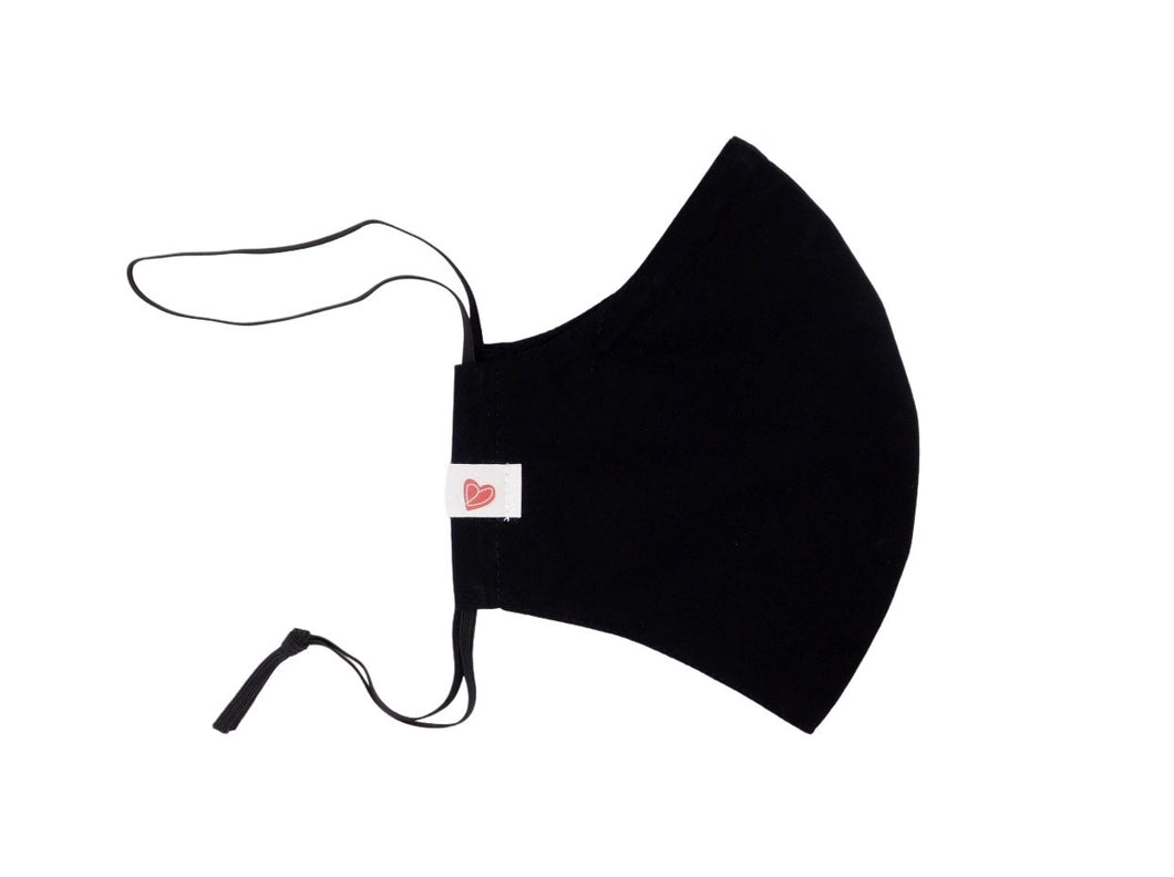The Worker Adult mask in black
