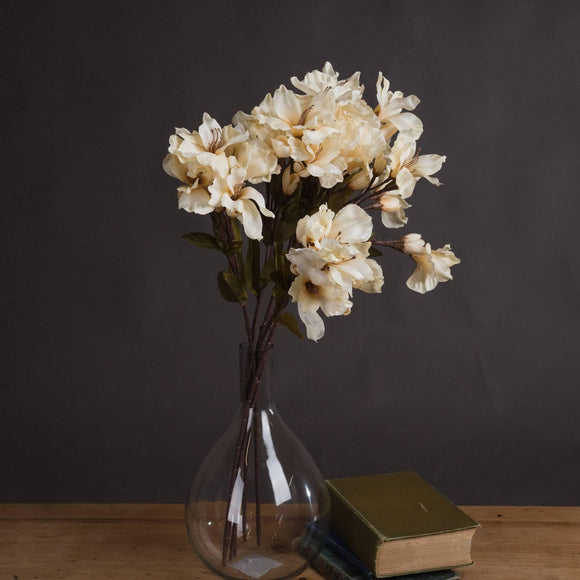 Autumn Cream Alstroemeria Lily Spray | L J Home