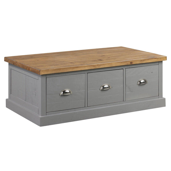The Byland Collection Six Drawer Coffee Table
