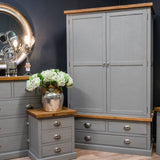 The Byland Collection Three Drawer Two Door Wardrobe