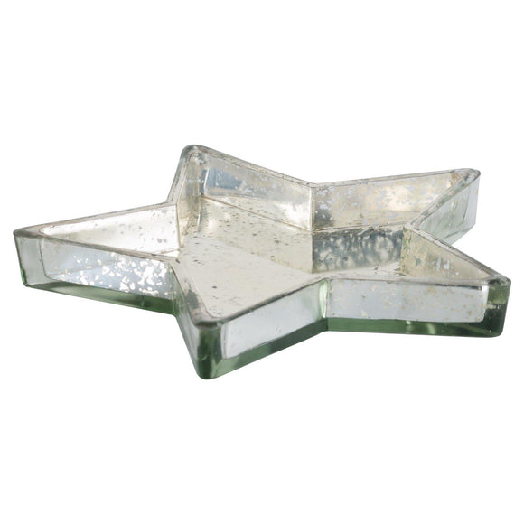 Silver Star Display Dish | L J Home