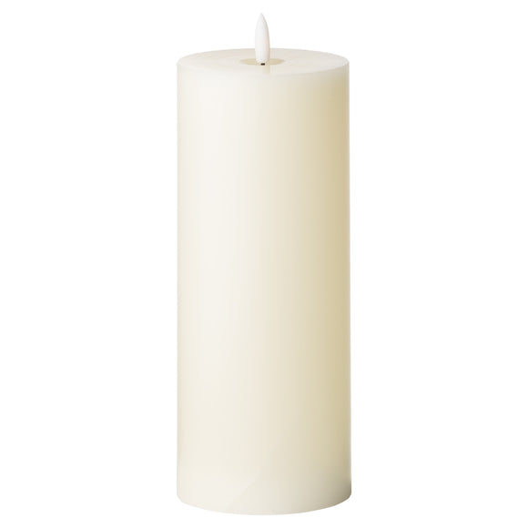 Luxe Collection Natural Glow 3.5 x 9 LED Ivory Candle