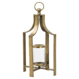 Ohlson Antique Brass large Tea Light Lantern