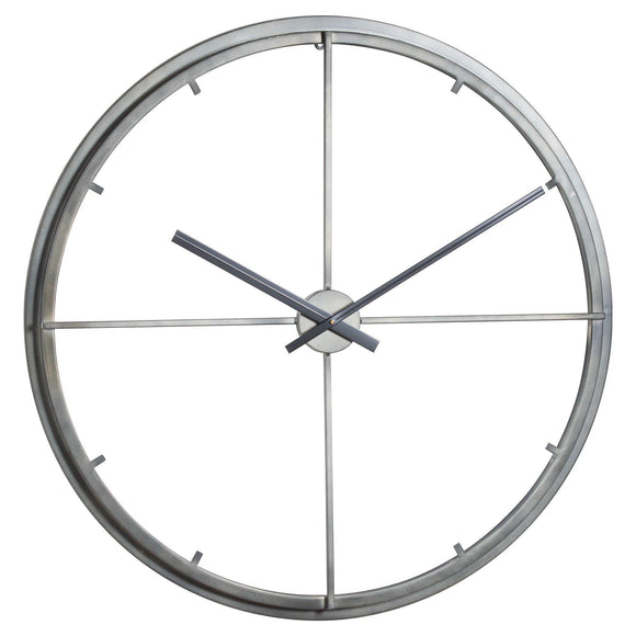 Large Skeleton Contemporary Clock