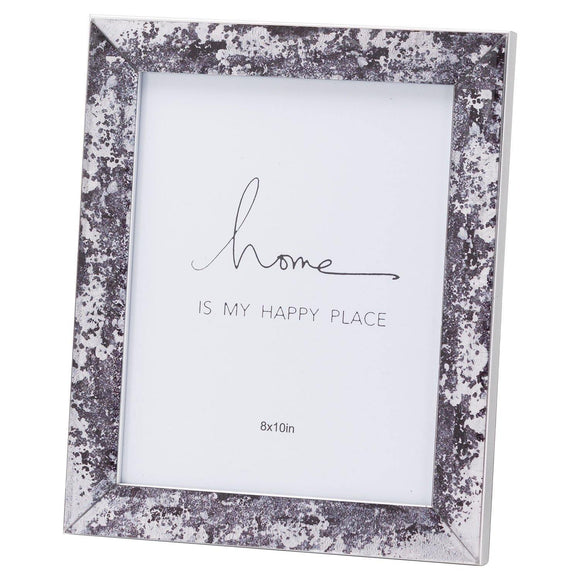 Black Foil Metallic 8X10 Frame | L J Home
