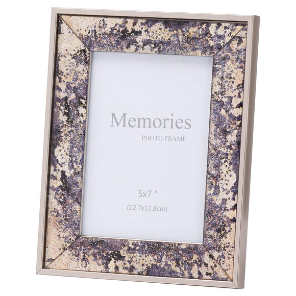 Bronze Foil Metallic 5X7 Frame | L J Home