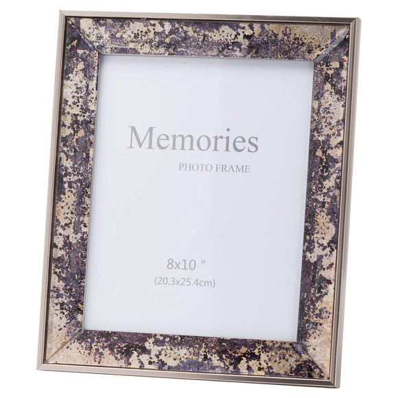 Bronze Foil Metallic 8X10 Frame | L J Home
