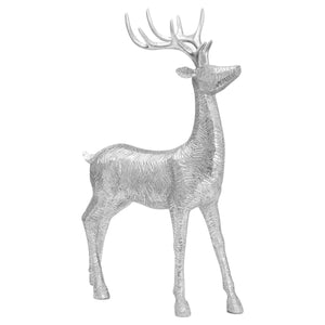 Decortive Wood Effect Standing Deer