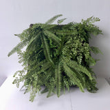 Fern And Greenery Wall Panel