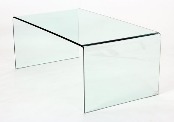 Angola Clear Coffee Table | L J Home