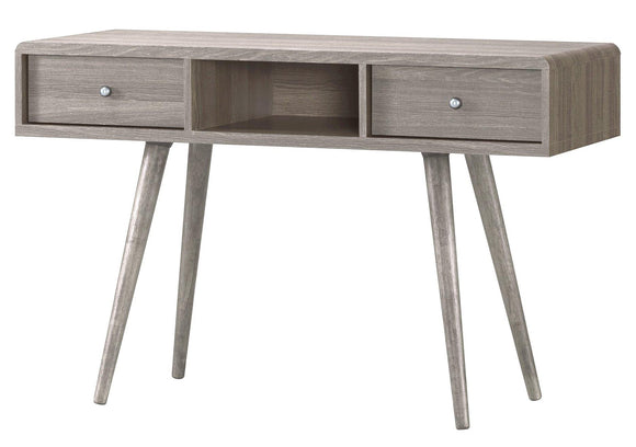 Belvoir Dressing Table 2 Drawer Grey Oak Effect | L J Home