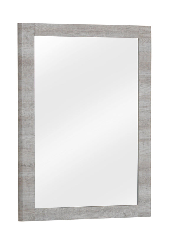 Belvoir Dressing Table Mirror Grey Oak Effect | L J Home