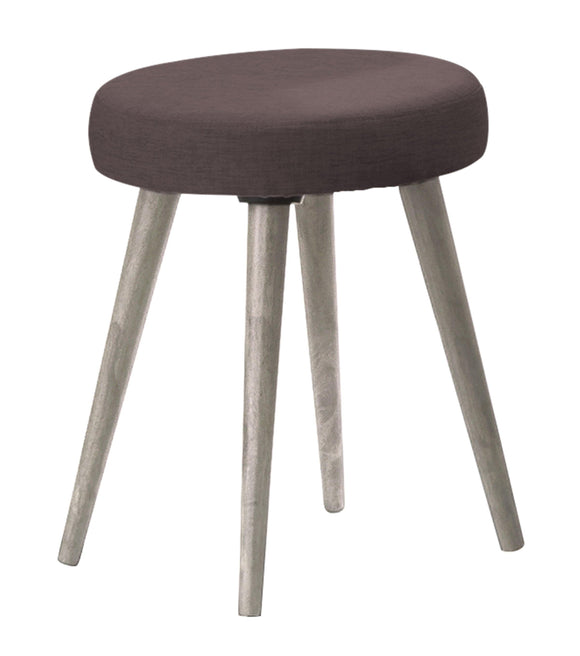 Belvoir Dressing Table Stool Grey Oak Effect | L J Home