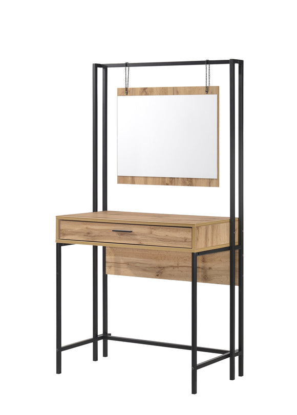 Michigan Dressing Table with Mirrior | L J Home