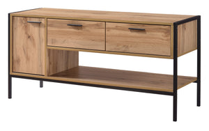 Michigan TV Unit 1 Door & 2 Drawers | L J Home