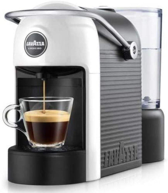 Lavazza Modo Mio Jolie White Capsule Coffee Maker Machine One Touch Operation 18000007