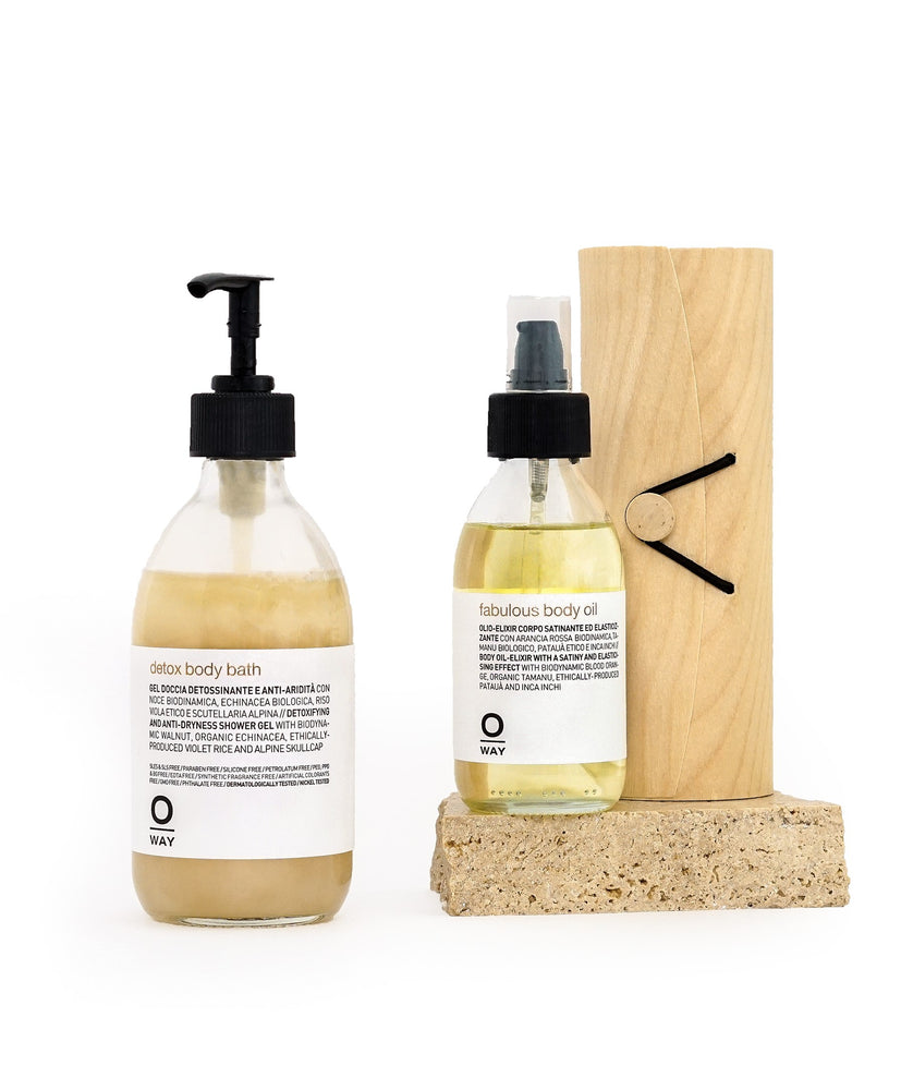 DETOX CLEANSER & BODY OIL DUO