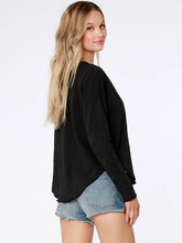 Load image into Gallery viewer, Long Sleeve Grommet Tee