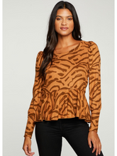 Load image into Gallery viewer, Bengal Peplum Pullover