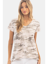 Load image into Gallery viewer, Camo Boyfriend Tee