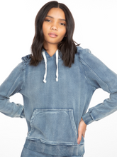 Load image into Gallery viewer, Karlie Denim Sweatshirt