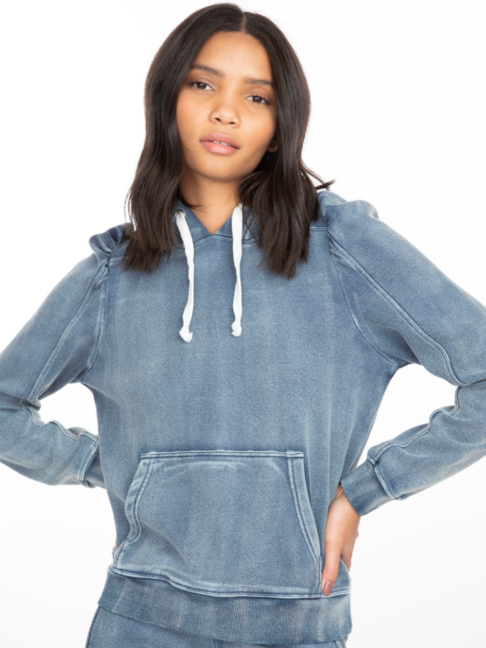 Karlie Denim Sweatshirt