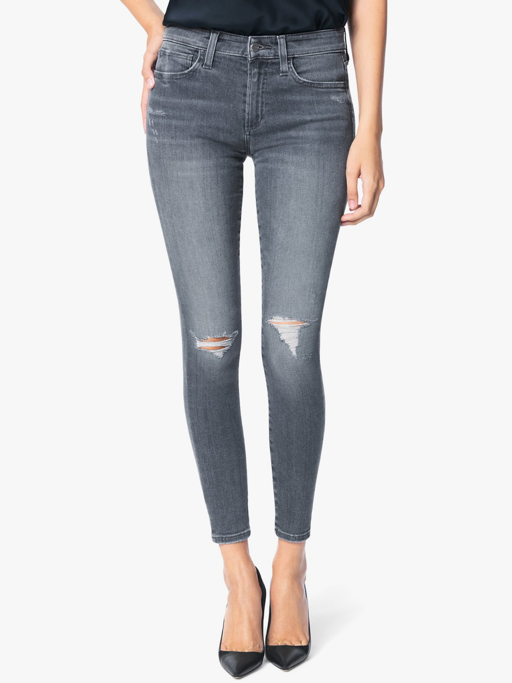 Icon Mid Rise Skinny Ankle - Night Fever