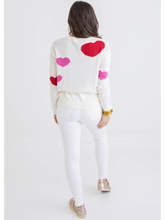 Load image into Gallery viewer, Queen of Hearts Sweater