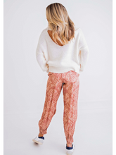 Load image into Gallery viewer, Tie Dye Satin Jogger