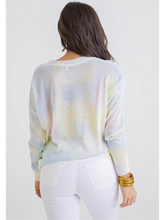 Load image into Gallery viewer, Multi Tie Dye Sweater