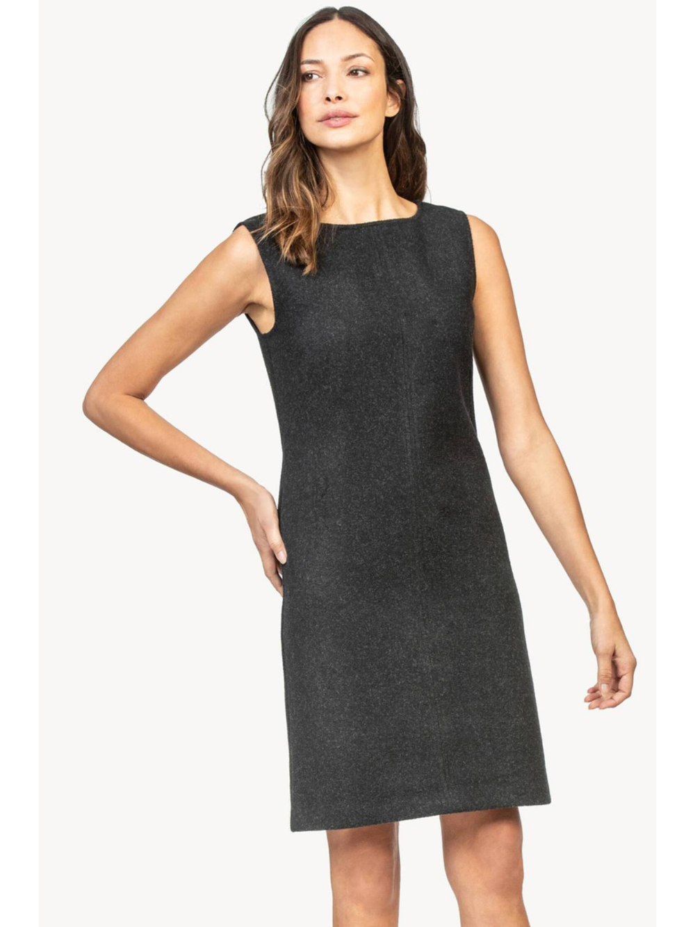 Felt Sheath Dress
