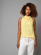 Load image into Gallery viewer, D-Satin Funnel Neck Tank