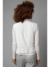 Load image into Gallery viewer, D-Satin Cloud Moto Jacket