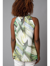 Load image into Gallery viewer, Palm Keyhole Halter Top