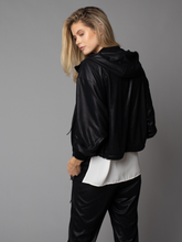 Load image into Gallery viewer, Ultra Suede Bomber Jacket