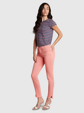 Load image into Gallery viewer, Dreamer Mid Rise Skinny Ankle - Faded Coral