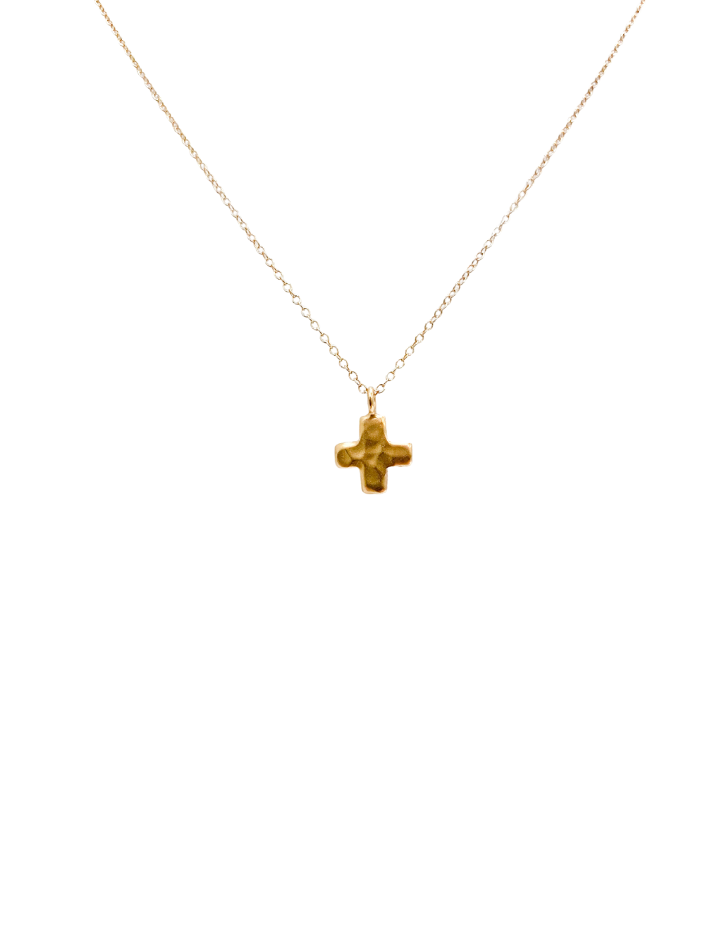 Cana Gold Cross Necklace